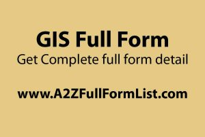 GIS full form in salary, GIS meaning, Importance of GIS, Types of GIS, GIS map, GIS software, GIS mapping software, Components of GIS,