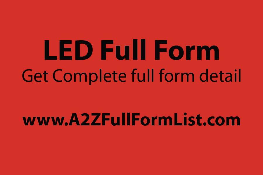 led full form in english, cfl full form, oled full form, led full form in telugu, lcd ka full form, bulb full form, cfl ka full form, crt full form,