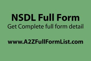 CDSL full form, NSDL full form pdf, NSDL login, NSDL services, NSDL registration, tin NSDL, NSDL payment bank,