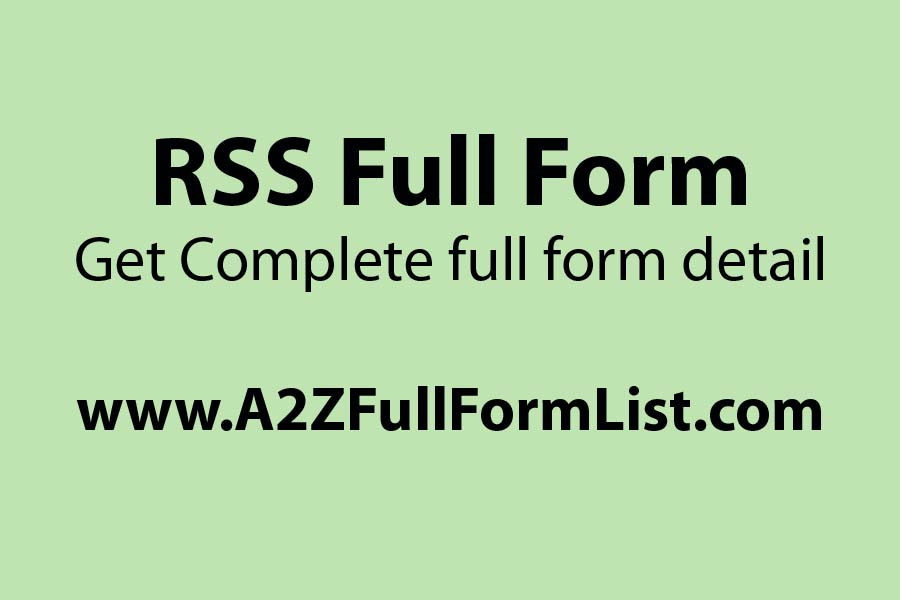 PRSS full form in the computer, RSS full name BJ, RSS full name Bengali, RSS full name in HTML, RSS join, RSS full form in Telugu, RSS full name Tamil,