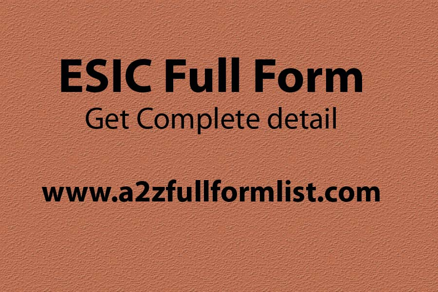 ESIC full form in hindi, ESIC registration, ESIC forms, ESIC full form in marathi, ESIC payment, ESIC benefits for family members, How to claim ESIC benefit, ESI maximum claim limit,