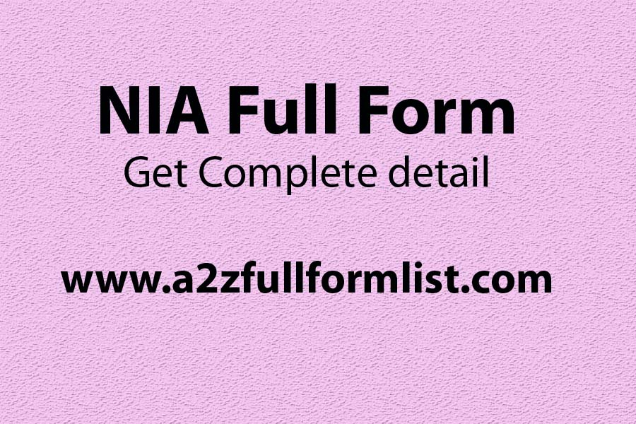 How to join NIA, NIA recruitment 2019, NIA salary, NIA full form in hindi, NIA qualification, NIA chief, RAW full form, NIA act,