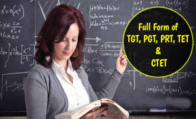PGT Full Form